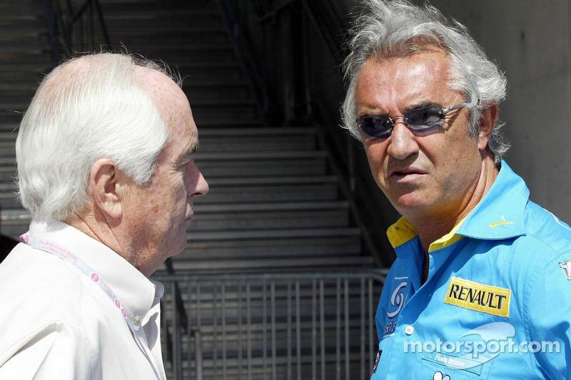 Roger Penske ve Flavio Briatore