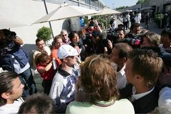 Ralf Schumacher announces his retirement from the USGP