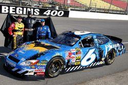 Batman Begins sponsorship on the car of Mark Martin