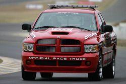 Le camion de sécurité Dodge