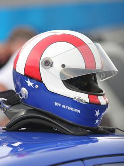 Helmet of Jeff Altenburg