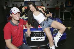 Martin Tomczyk with singer Ruslana