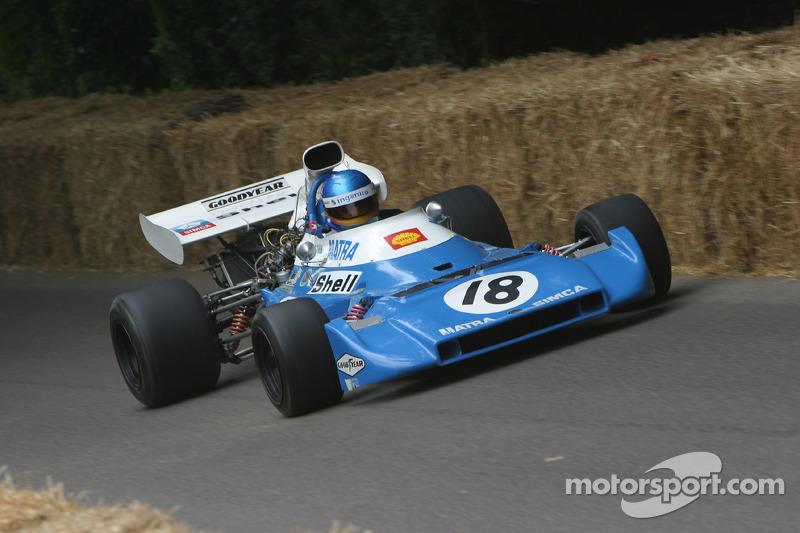 #120 Matra MS 120D de 1972 : Gérard Larrousse