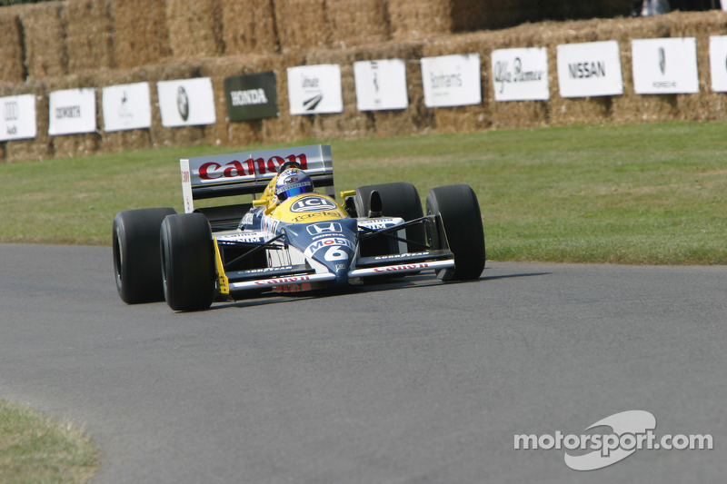 #11 Williams-Honda FW11B de 1987: Nico Rosberg