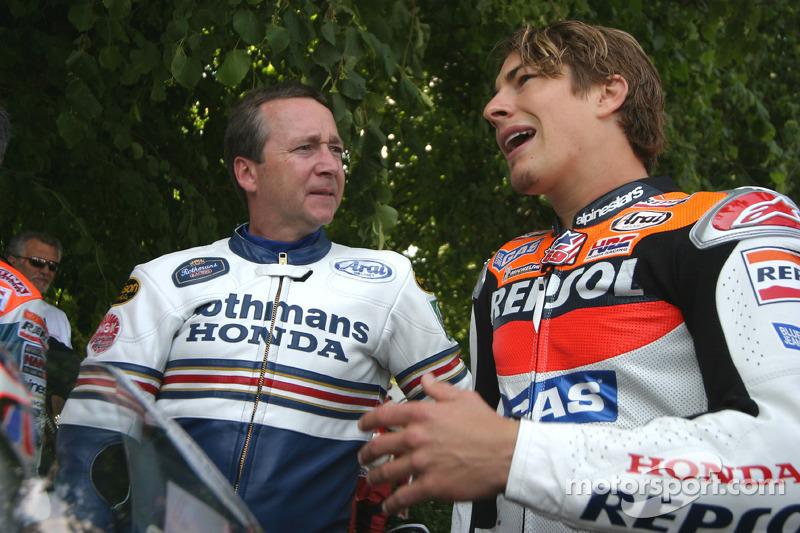 Freddie Spencer y Nicky Hayden