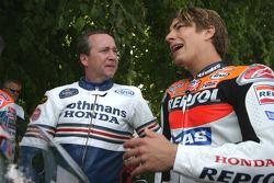 Freddie Spencer et Nicky Hayden