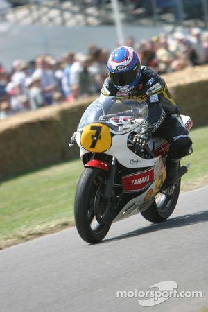 Yamaha OW53R YZR500, classe 15 1981 : Steve Parrish
