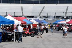 The Silver Crown paddock