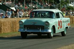#150 1955 Chevrolet One-Fifty, class 12: Junior Johnson