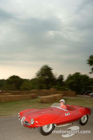 #123 1952 Alfa Romeo 1900 Disco Volante Spider, class 5: Francesca Grimaldi