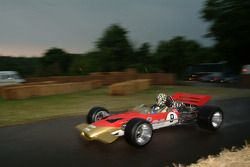 #49 1968 Lotus-Cosworth 49B, class 6: Dan Collins