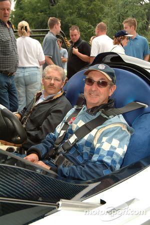 2005 Pininfarina Maserati Birdcage 75: Nick Mason