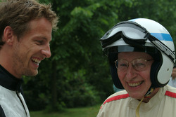 John Surtees and Jenson Button