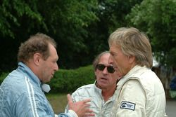 Jochen Mass, Jacques Laffite and Derek Bell
