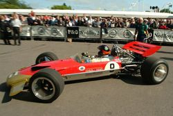 #49 1968 Lotus-Cosworth 49B, class 6: Emerson Fittipaldi