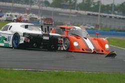 #07 Spirit of Daytona Racing Pontiac Crawford: Bob Ward, Roberto Moreno spins