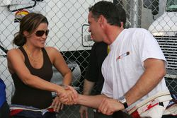 Lisa Marie Presley and Wally Dallenbach