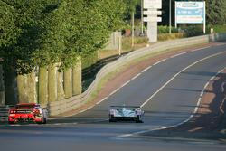 Champion Racing Audi R8: JJ Lehto, Marco Werner, Tom Kristensen; Scuderia Ecosse Ferrari 360 Modena : Nathan Kinch, Andrew Kirkaldy, Anthony Reid