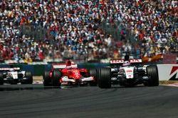 Takuma Sato et Rubens Barrichello