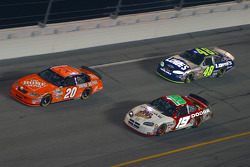 Tony Stewart, Jeremy Mayfield and Jimmie Johnson