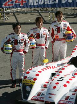 #5 Jim Gainer International Dome Mugen: Ryo Michigami, Seiji Ara, Katsumoto Kaneishi