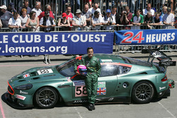 #58 Aston Martin Racing Aston Martin DBR9: Pedro Lamy