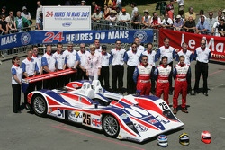 RML Lola MG : Thomas Erdos, Mike Newton, Warren Hughes et l'équipe