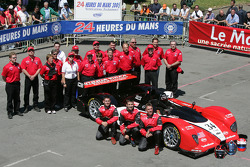 #34 Miracle Motorsports Courage AER: Ian James, John Macaluso, Andy Lally and team