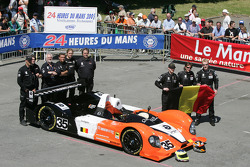 #35 G-Force Racing Courage Judd: Val Hillebrand, Gavin Pickering, Frank Hahn and team