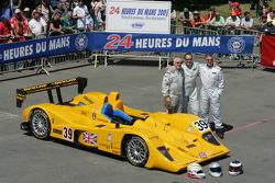 #39 Chamberlain Synergy Motorsport Lola AER: Bob Berridge, Gareth Evans, Peter Owen