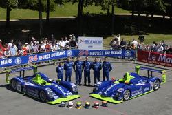 #18 et #8 Rollcentre Racing Dallara Judd: Martin Short, Joao Barbosa, Vanina Ickx, Michael Krumm, Harold Primat, Bobby Verdon-Roe