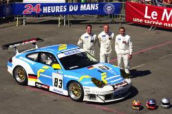 #83 Seikel Motorsport Porsche 911 GT3 RSR: Philip Collin, Horst Felbermayr, David Shep