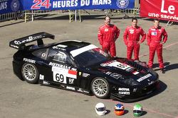 #69 JMB Racing Ferrari 575 GTC: Jim Matthews, Stéphane Daoudi, Jean-René de Fournoux