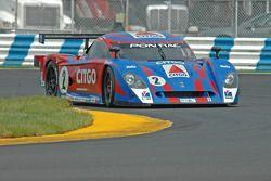 #2 CITGO - Howard - Boss Motorsports Pontiac Crawford: Milka Duno, Jan Lammers
