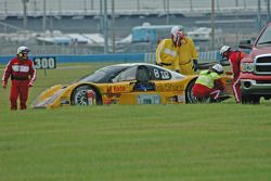 #54 Kodak - Bell Motorsports Pontiac Doran: Terry Borcheller, Ralf Kelleners off track