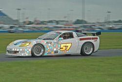 #57 Stevenson Motorsports Corvette: Tommy Riggins, John Stevenson, Vic Rice