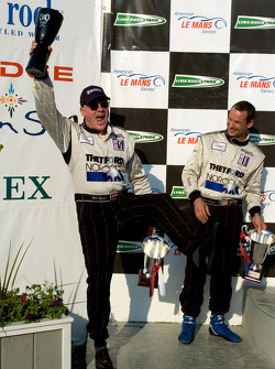 P1 podium: Rob Dyson and Butch Leitzinger