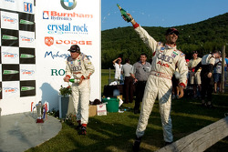 P1 podium: champagne for Emmanuele Pirro