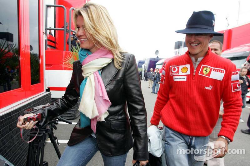 Michael Schumacher ve eşi Corinna
