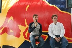 Red Bull Racing press conference: David Coulthard and Christian Horner