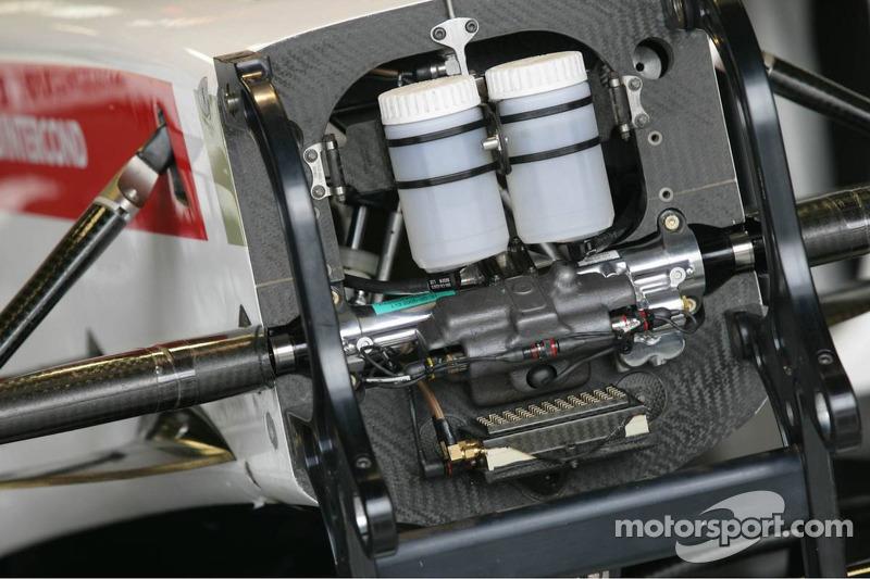 Detalles del BAR-Honda