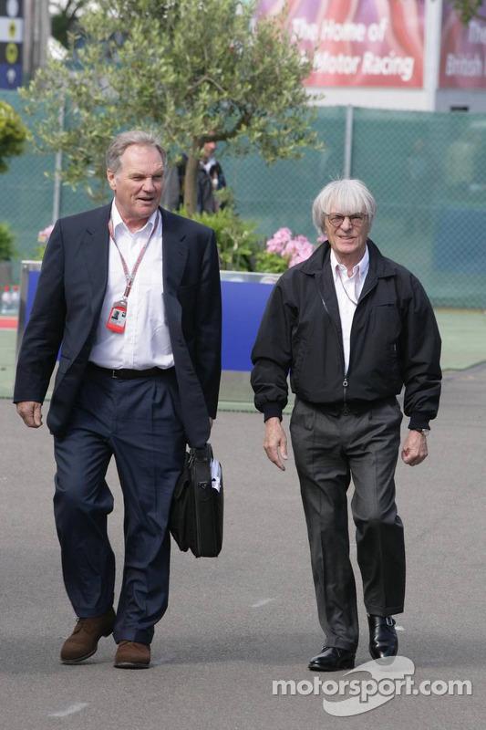 Patrick Head Y Bernie Ecclestone