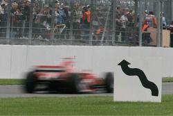 Michael Schumacher at speed