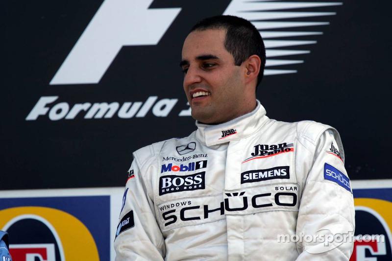 Podyum: Yarış galibi Juan Pablo Montoya