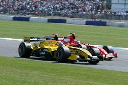 Tiago Monteiro ve Rubens Barrichello