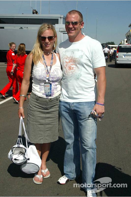 Lara Phillips y Mike Tindall
