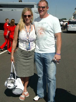 Lara Phillips y Mike Tindall