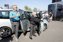 Flavio Briatore and Bernie Ecclestone