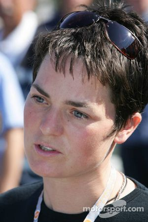 British sailing star Ellen MacArthur