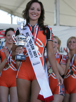 First runner-up of Miss Molson Indy 2005